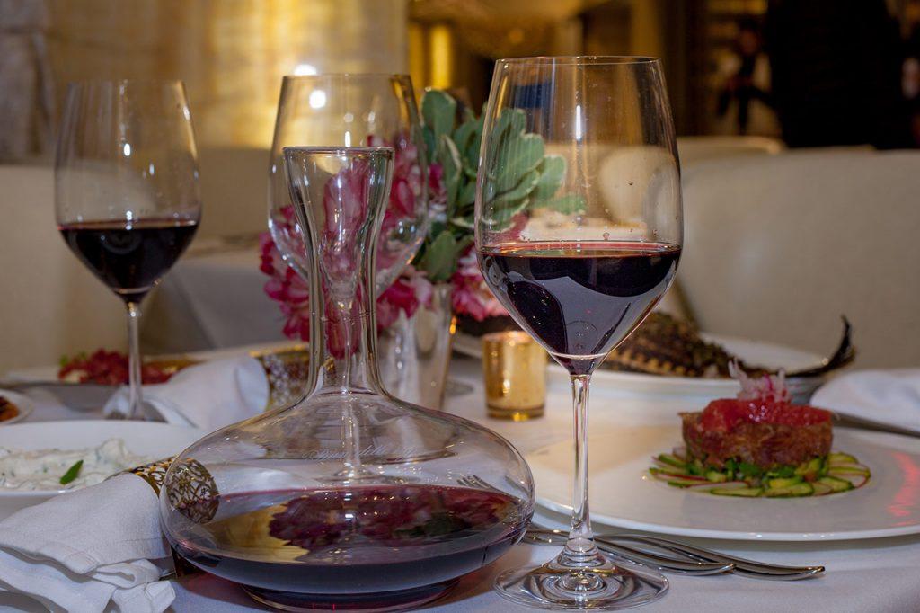Wine cellar menu