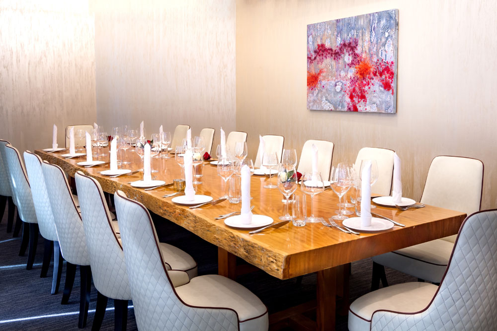 Gallery zav restaurant for Best private dining rooms new york city