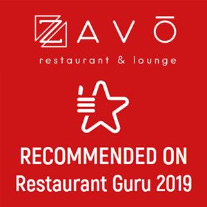 restaurant guru 2019 ZAVO Restaurant