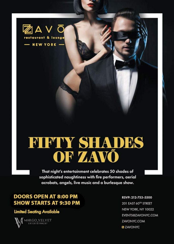 50 Shades of ZAVO Show