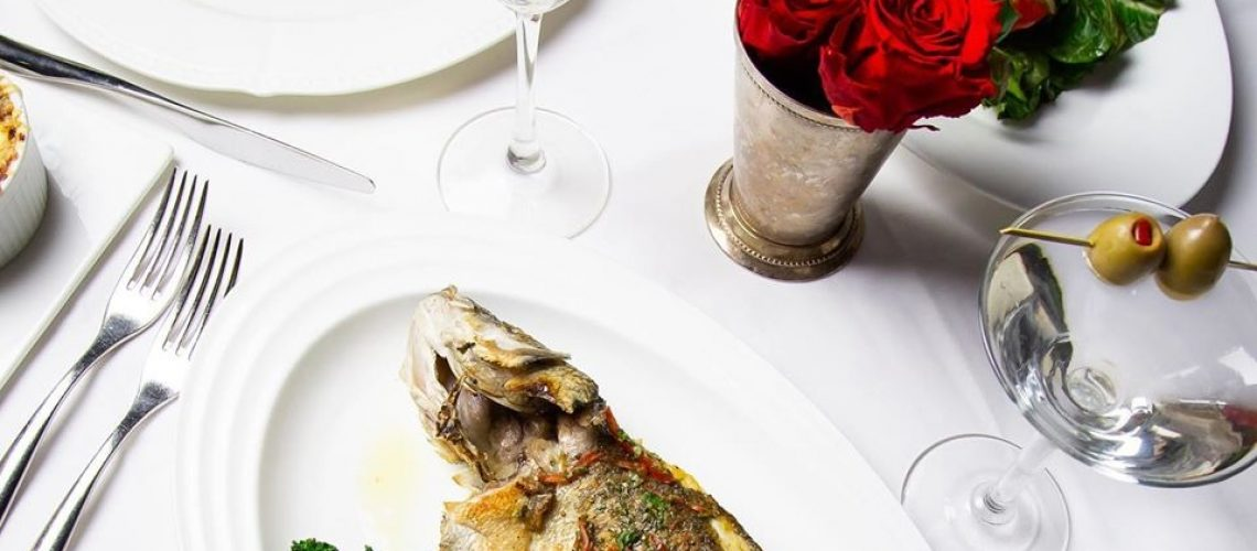 Best Shrimp Risotto NYC order online, Mediterranean Food, Filet Mignon, Roasted Branzino, Grilled Branzino, Grilled Salmon, To Go, Take out, Delivery, Pickup, New York City,